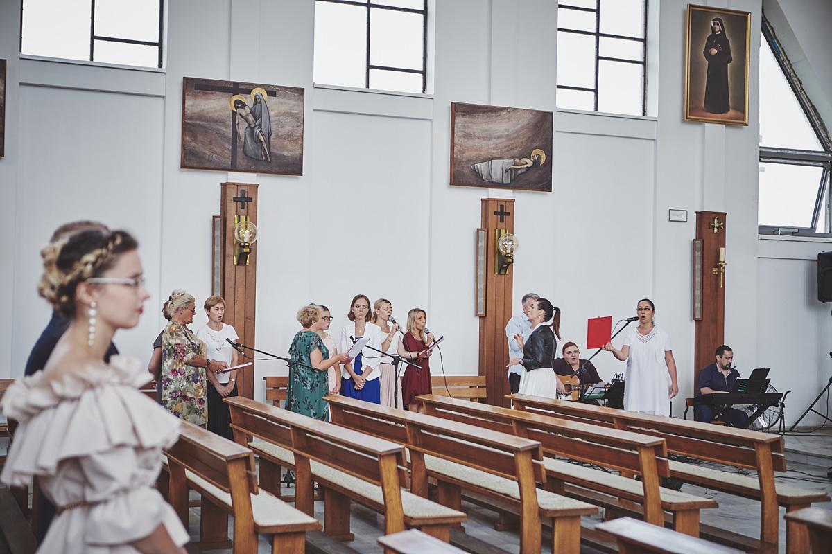 Skrót z reportażu ślubnego w Dworku Broniszówka 49