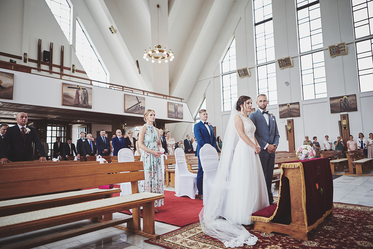 Skrót z reportażu ślubnego w Dworku Broniszówka 60
