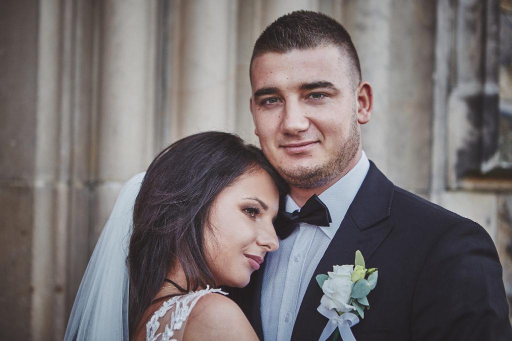 Plener ślubny na zamku w Mosznej 13