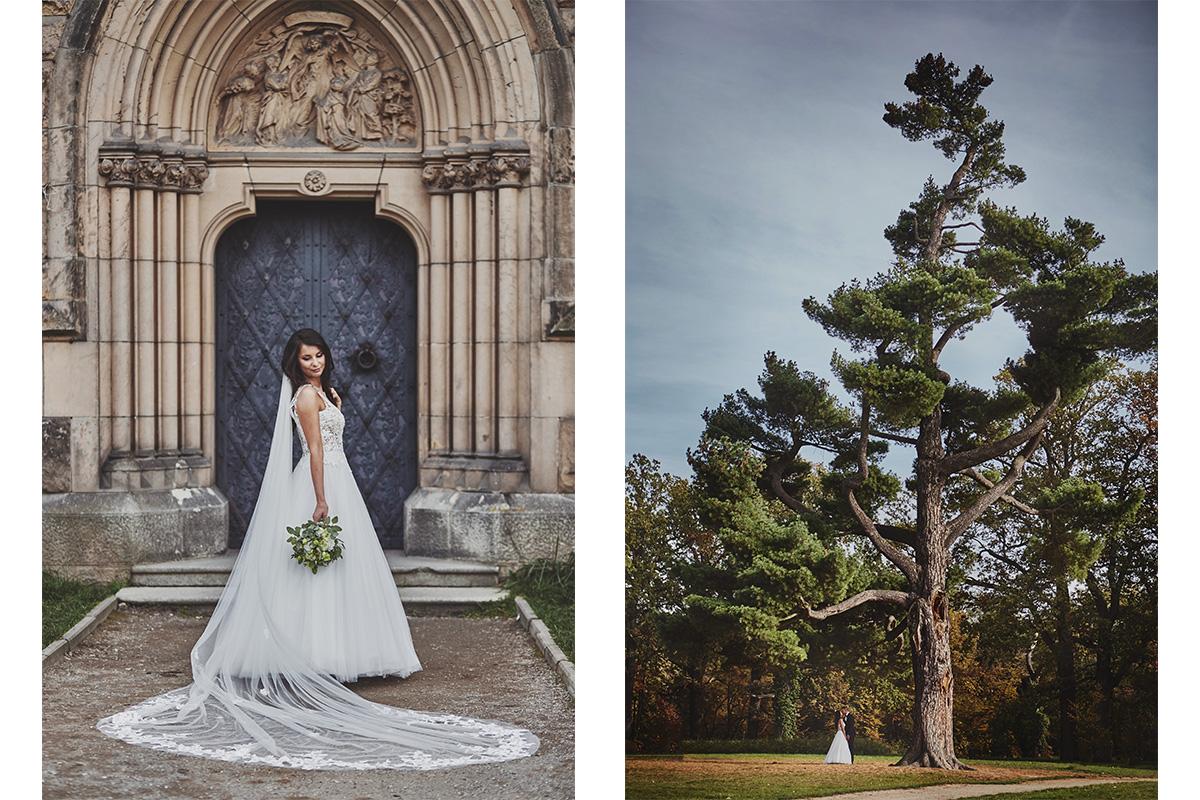 Plener ślubny na zamku w Mosznej 17