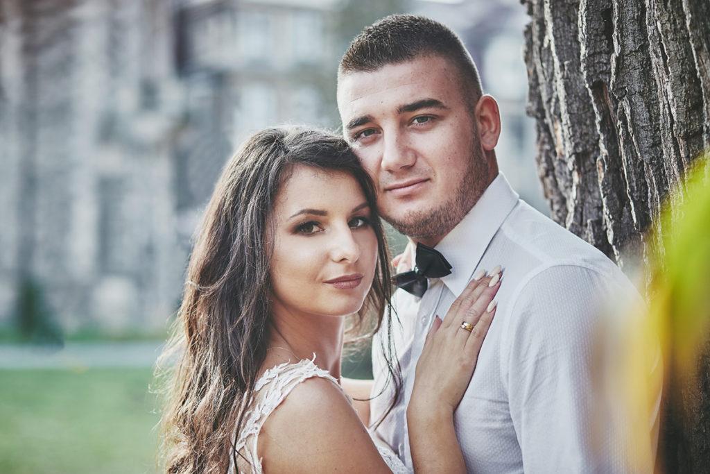 Plener ślubny na zamku w Mosznej 24