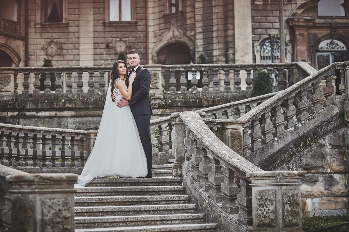 Plener ślubny na zamku w Mosznej 40