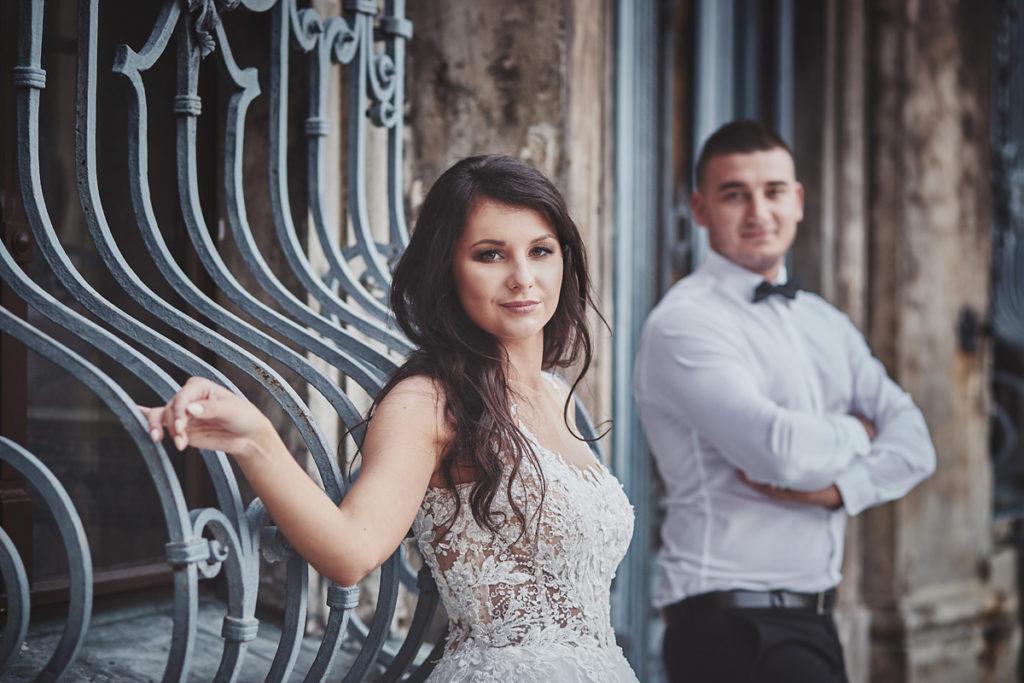 Plener ślubny na zamku w Mosznej 49