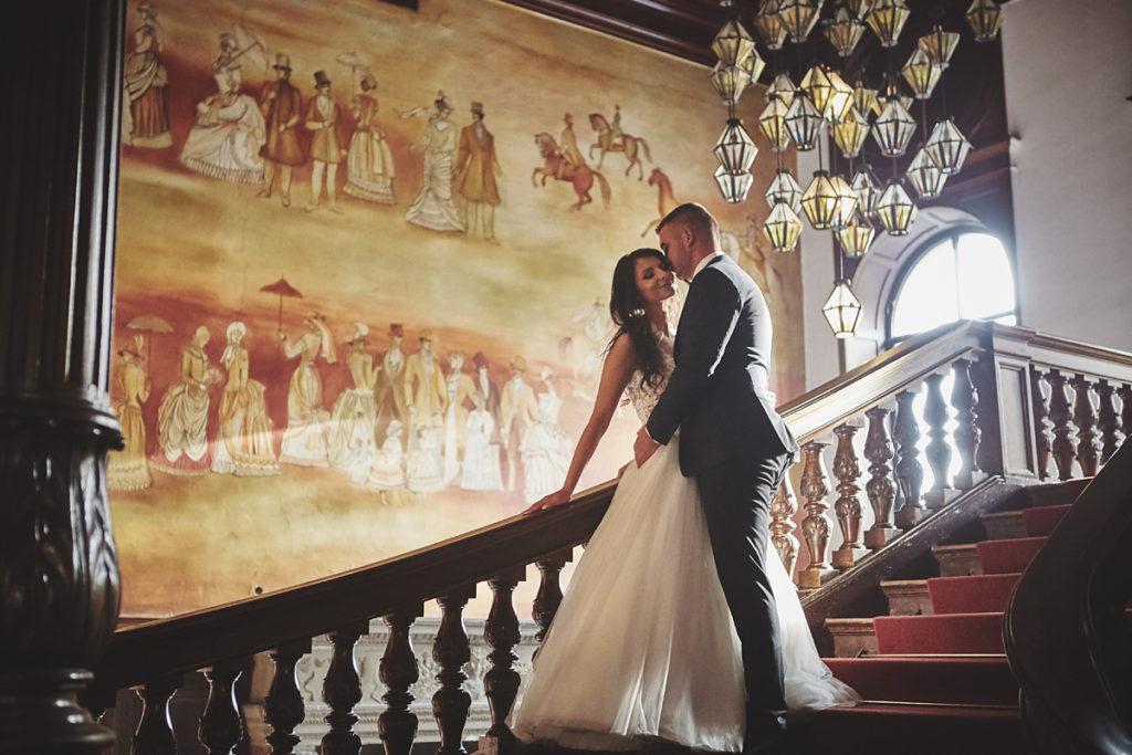 Plener ślubny na zamku w Mosznej 50