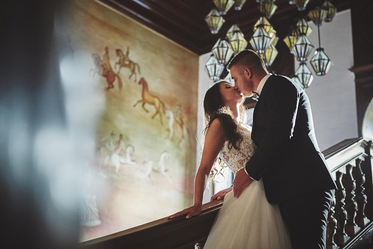 Plener ślubny na zamku w Mosznej 51