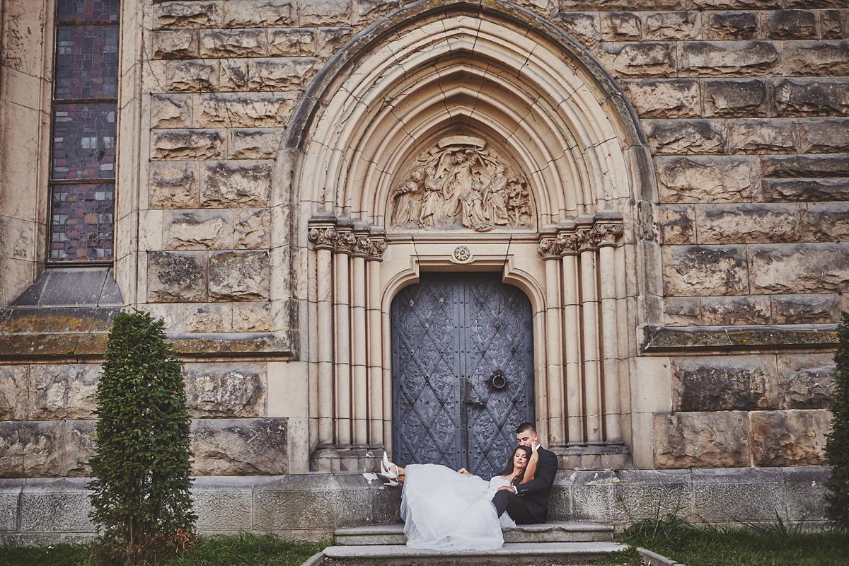 Plener ślubny na zamku w Mosznej 6