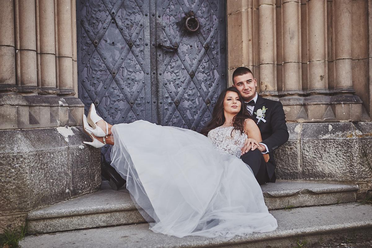 Plener ślubny na zamku w Mosznej 7