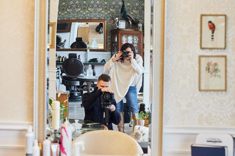 fotograf u fryzjera